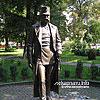 Пам'ятник Францу-Йосифу I (2009) у сквері на вул. Марії Кордуби