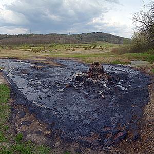 Грязьовий вулкан біля с.Старуня
