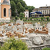 The reconstruction of Halych ancient town