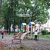 Дитячий майданчик у Парку воїнів-інтернаціоналістів, між вулицями Галицька, Сестер Василіянок та Воїнів-інтернаціоналістів