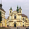 The former parish church of the Blessed Virgin Mary (1703), nowadays there is the Museum of Art, A. Sheptytsky Square 4