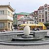 The fountain, Rynok Square
