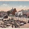 Площа Ринок, поч. XX ст. (листівка, зображення з сайту <a href=&quot;http://artkolo.org&quot;>artkolo.org</a>)