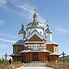The new church, Slyvki village