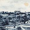 Місто Снятин на поч. XX ст. (листівка, зображення з сайту <a href=&quot;http://artkolo.org&quot;>artkolo.org</a>)