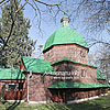 Деревянная церковь Св. Онуфрия с колокольней (1680, 1758 гг.), г. Буск