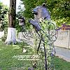 Скульптура в центре города