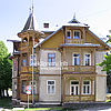 Wooden villa, late 19th cen.