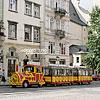 «Чудо поезд» на улицах города