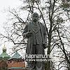 T. Shevchenko's monument in Sholomyn village