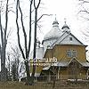The bell tower of St. Michael church (1730, on the left side), Yasenytsya-Zamkova
