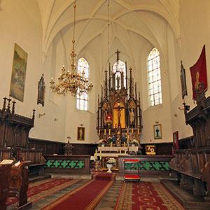 Catholic church of St. Martin (16th-17th cent.), Nove Misto