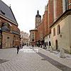 Історична частина міста (провулок між Маріанським костелом та костелом св. Варвари)