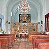 Basilian monastery (1664) inside, Krasnopushcha village