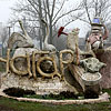 Дерев'яні скульптури О. Степанова, с. Чагарі
