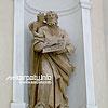 Скульптура костела Святой Троицы