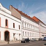 """Колишній готель """"Орослан"""" (XVII ст.), тепер – Угорський народний театр"""