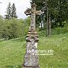 The old monuments near the church in Torun village